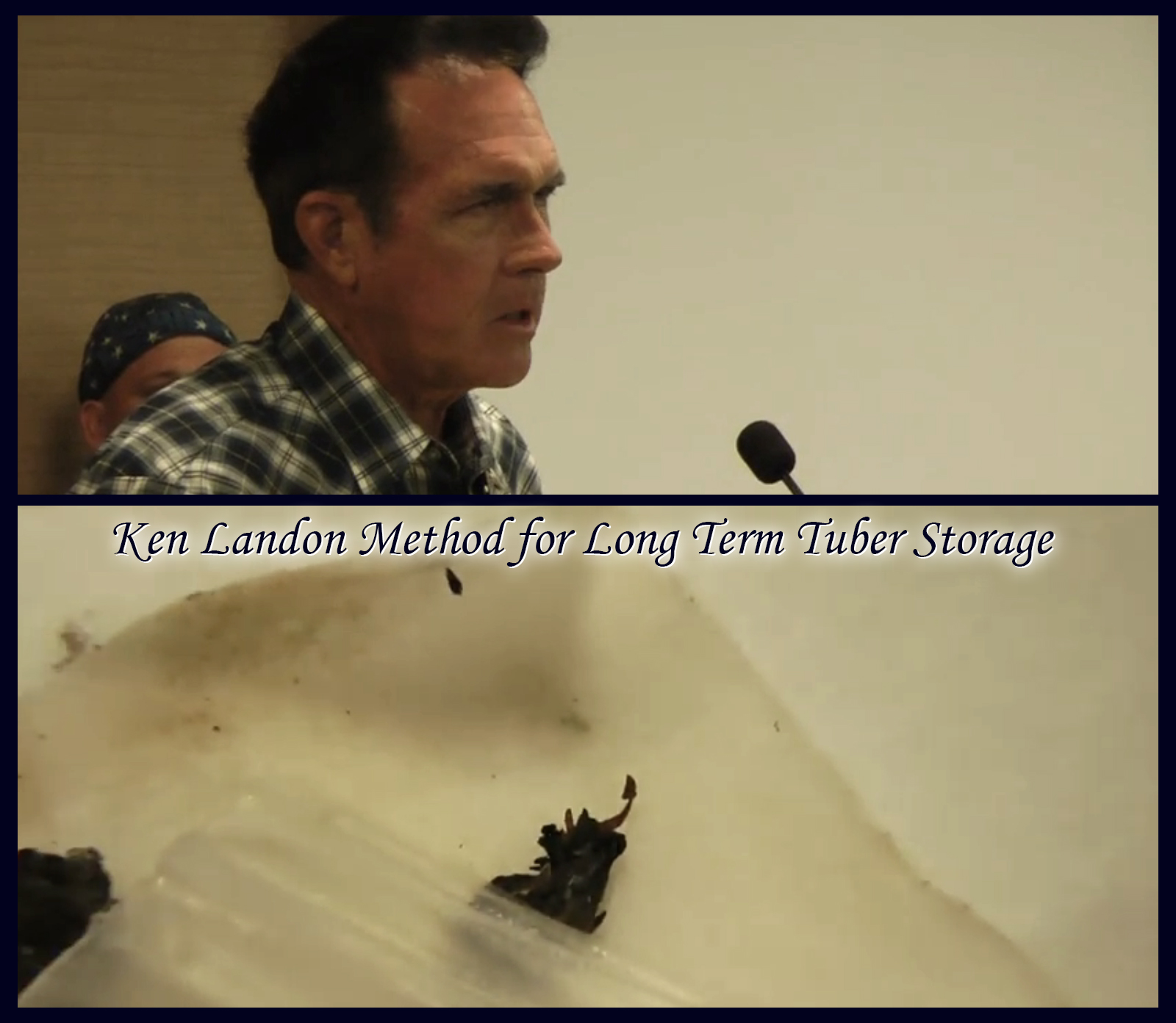 Ken Landon Method for Long Term Tuber Storage